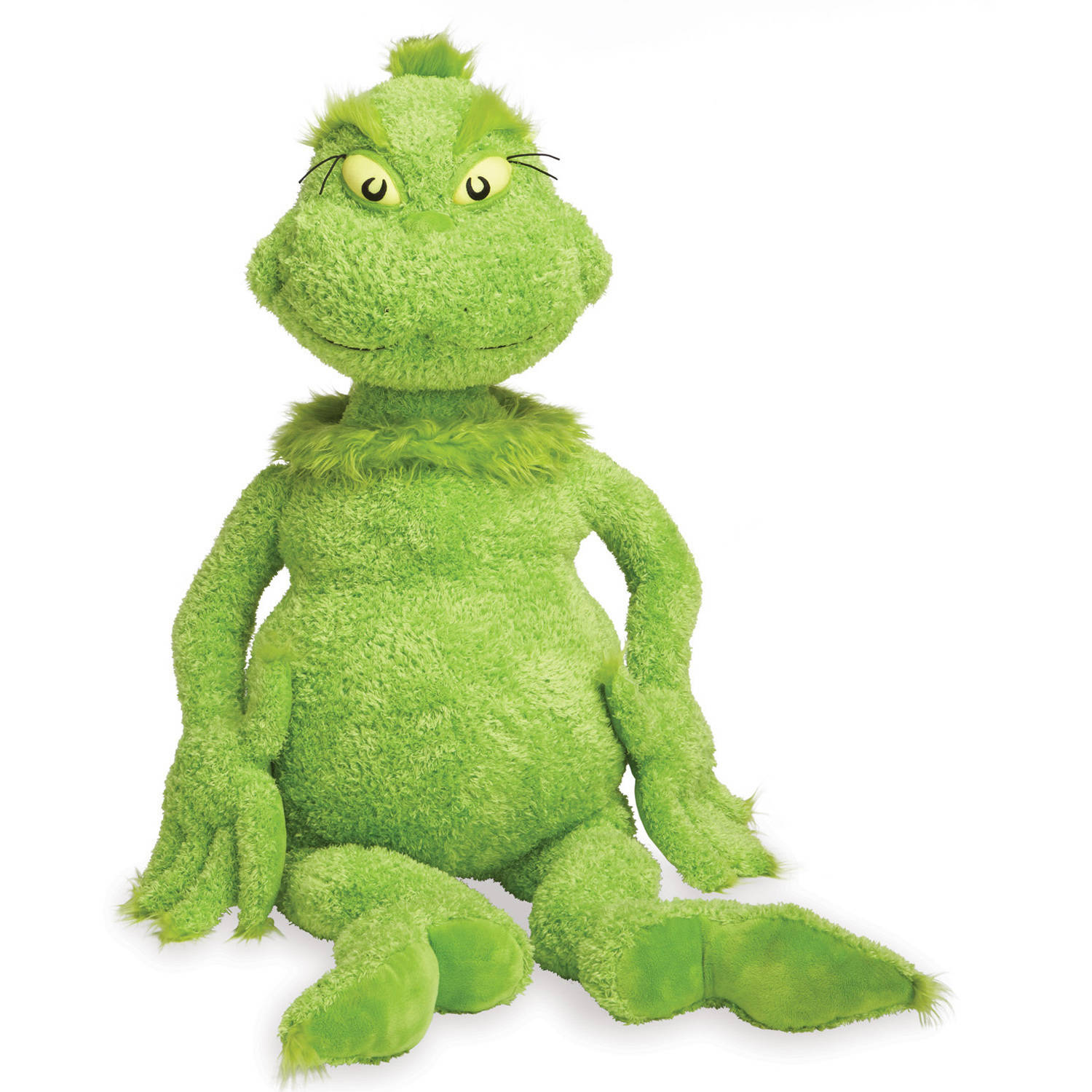 "Click here to buy Manhattan Toy Dr. Seuss The Grinch 45"" Jumbo Soft Plush Toy by Manhattan Toy."