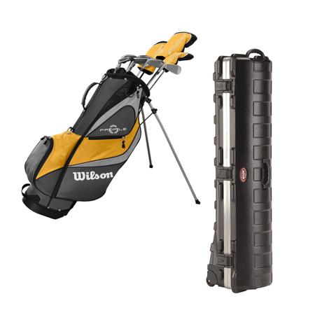 Wilson Profile XD Right-Handed Stand Bag Golf Club Set & Golf Bag Travel