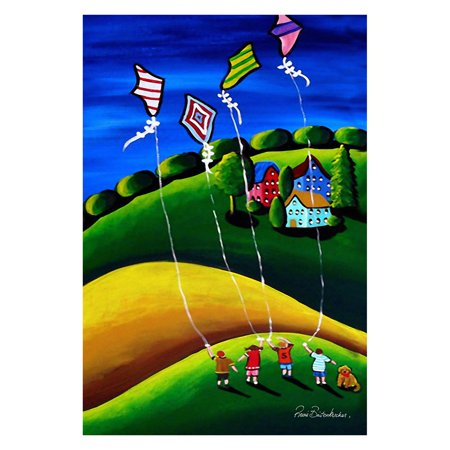 Toland Home Garden Kite Flyers Flag