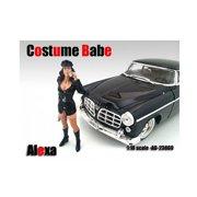 American Diorama 23869 Costume Babe Alexa Figure for 1-18 Scale Models