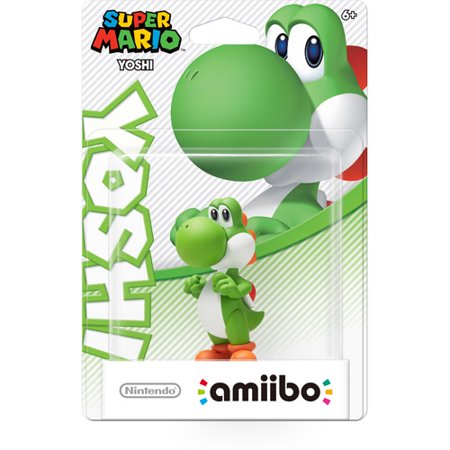 Yoshi Super Mario Series Amiibo  Nintendo Wii U Or 3Ds