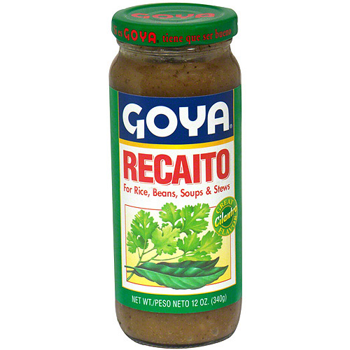 Goya Recaito Cilantro Cooking Base, 12 oz (Pack of 24)