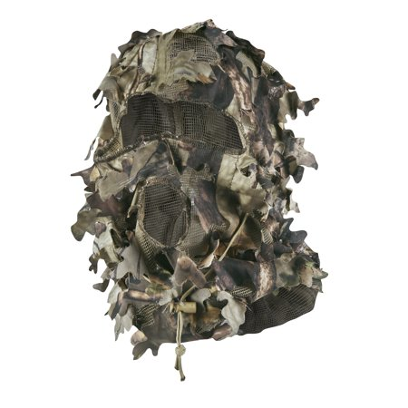 - Master Sportsman Leafy Die-Cut Mask One Size Fits All HD Camo