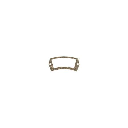 MACs Auto Parts  32-26283 Tail Light License Lens Gasket - White - Ford Passenger