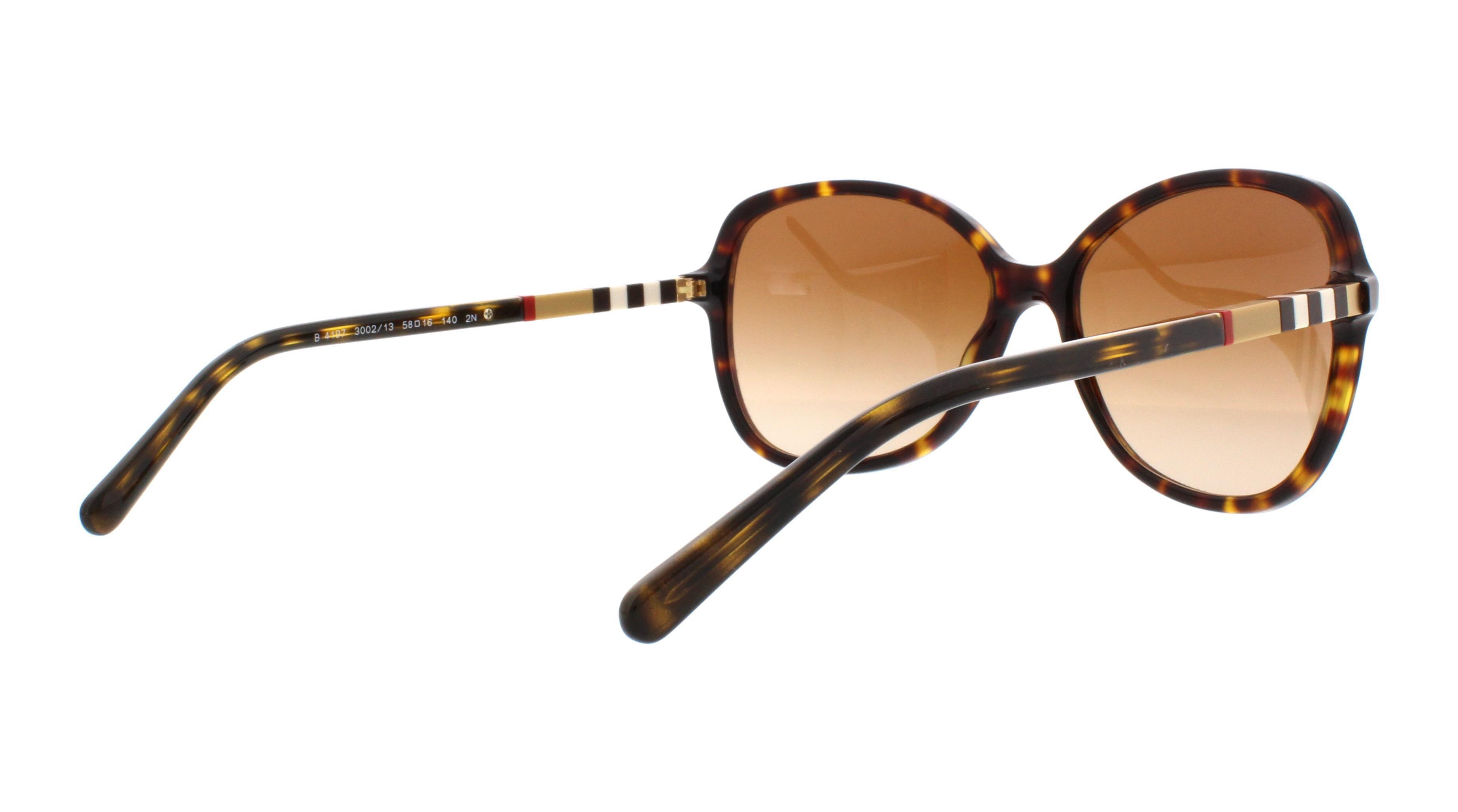 55094cc1d285 Burberry BE 4197 3002 13 - Dark Havana - BURBERRY Sunglasses BE4197 300213  Havana 58MM - Walmart.com