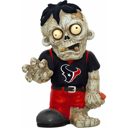 Forever Collectibles NFL Resin Zombie Figurine, Houston Texans