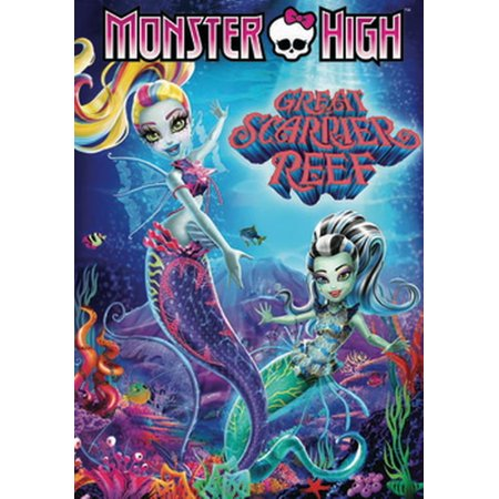 Monster High: Great Scarrier Reef (DVD)