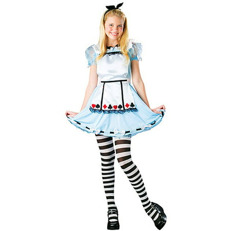 Alice In Wonderland Costume Child 0-9 - Alice In Wonderland Mushroom Costume