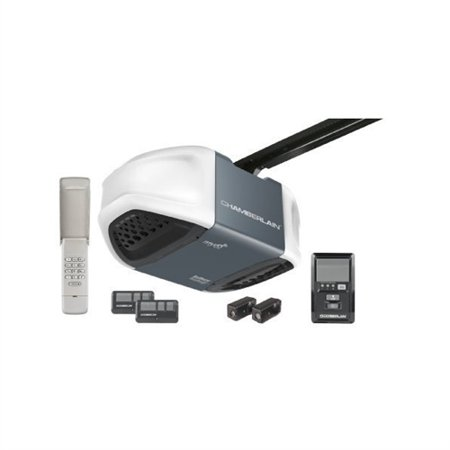 myq garage door openerChamberlain Whisper Drive Garage Door Opener with MyQ Technology