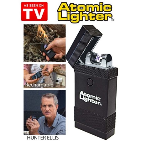 As Seen On TV Atomic Lighter Fuel-Free & Rechargable