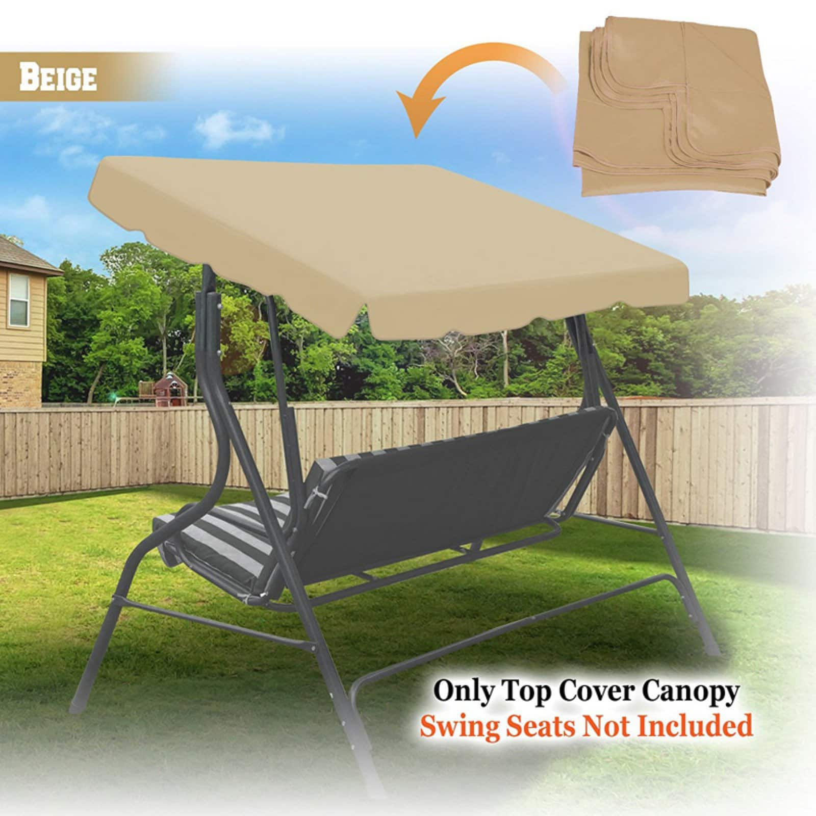 Outdoor Patio Swing Canopy Replacement