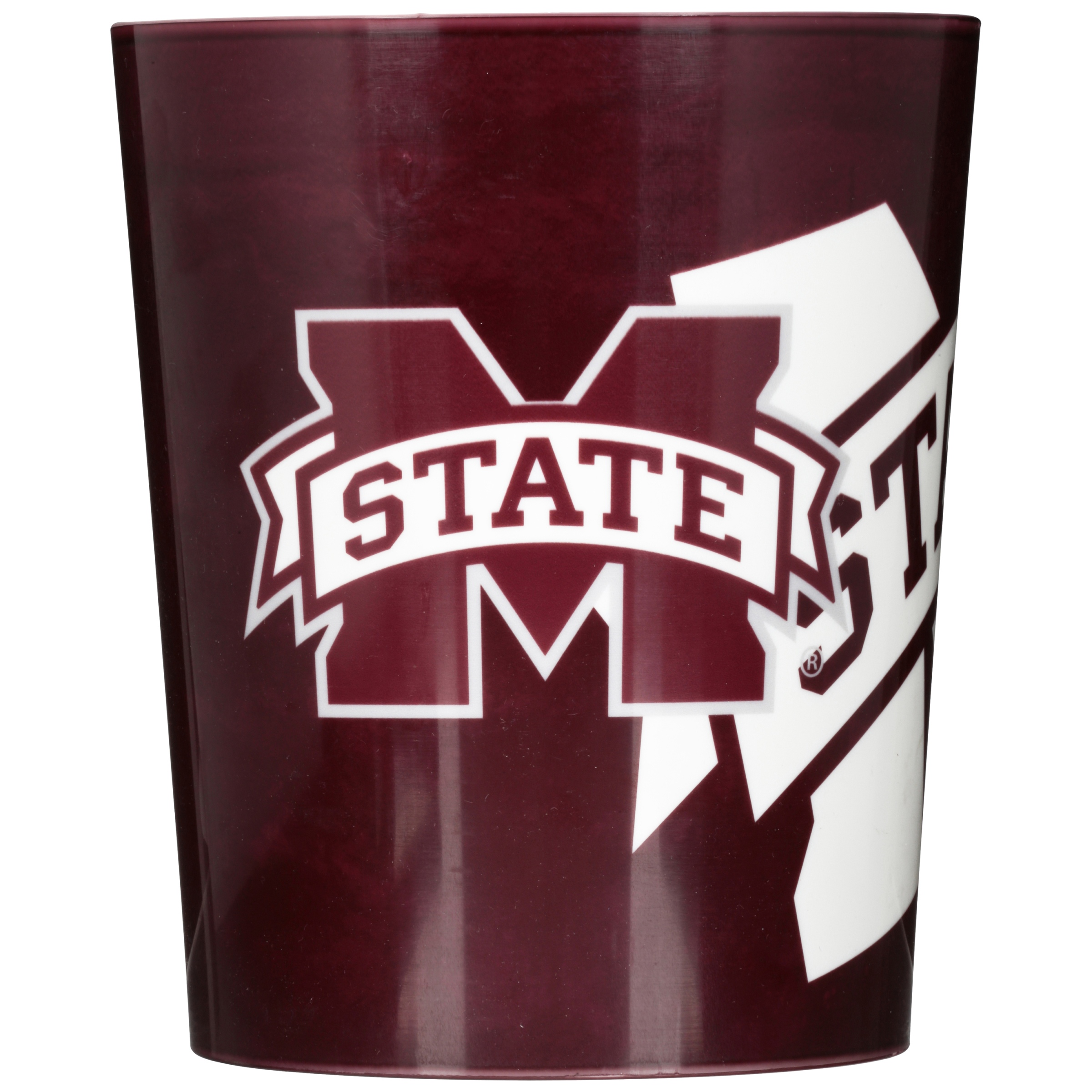 Mississippi State Bulldogs Decorative Bath Collection Wastebasket