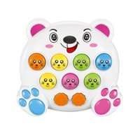 Electric Palm Whac-A-Mole Game Machine Children's Music Multifunctional Story Machine Toy with Light and Music Learning Machine