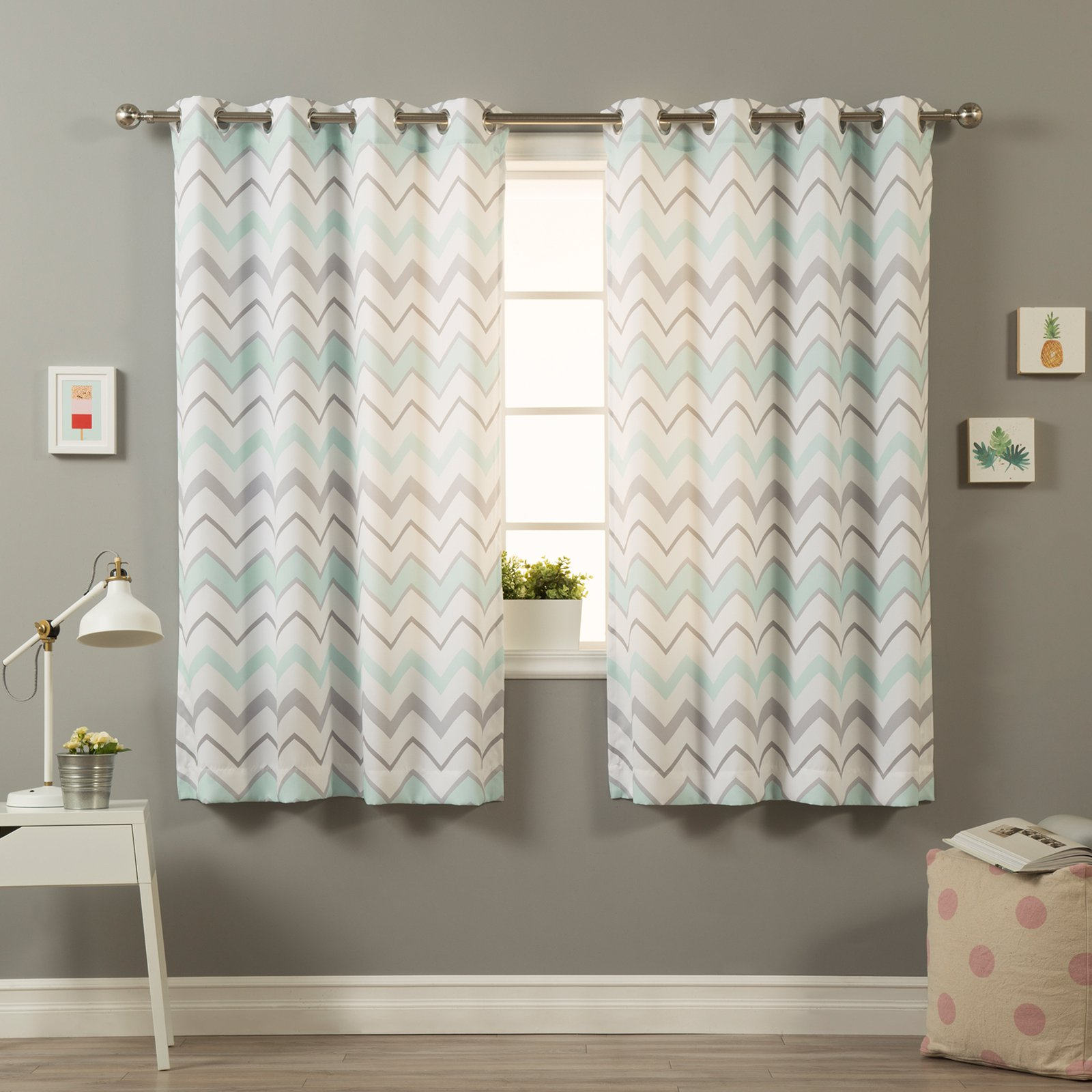Best Home Fashion Nordic Wave Curtains