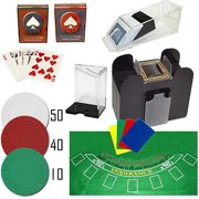 Trademark Poker Professional Blackjack Set