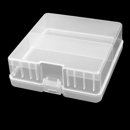 Hard Plastic Case Holder Storage Box Container for 100 x AA Battery - image 1 de 6