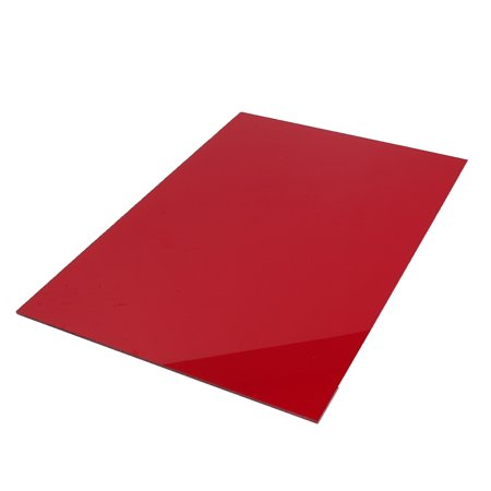 A2 420 * 594 5mm thick clear plastic sheet / plexiglass plate / acrylic  plate black / white / red / green / orange / matt black / transparent color  /