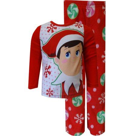 Elf on the Shelf Red Fleece Pajamas