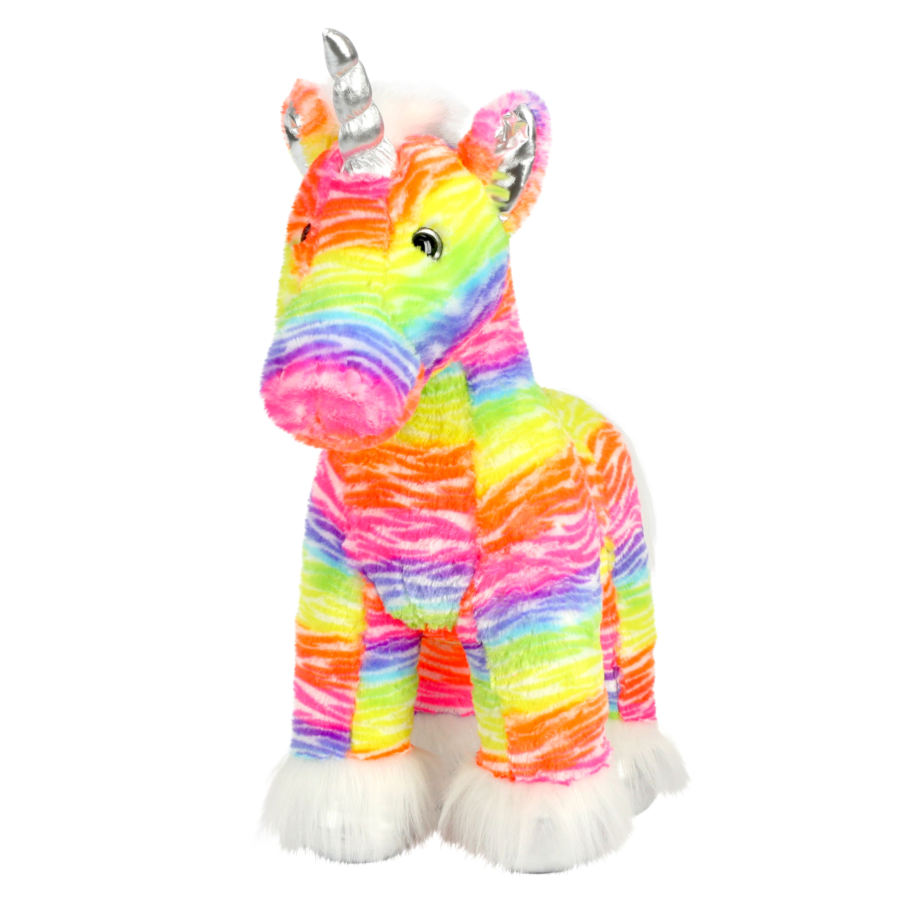 "Way To Celebrate 24"" Valentines XL Sitting Plush Toy - Unicorn"