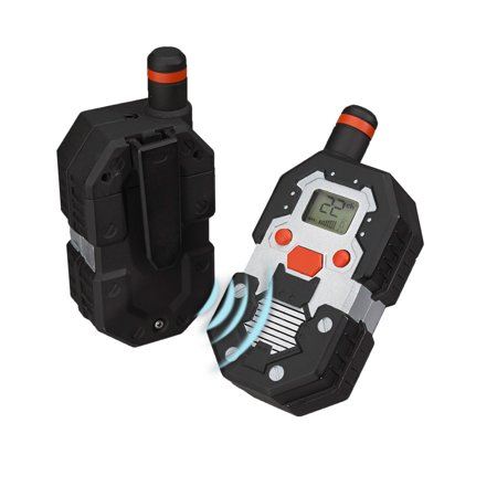 SpyX / Long Range Walkie Talkies - Walkie Talkie Set with Up To 2 Mile Range! 22-Channel Scan Feature makes this the Perfect addition for your spy gear collection!