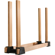 ShelterLogic Adjustable Plastic Firewood Rack Brackets