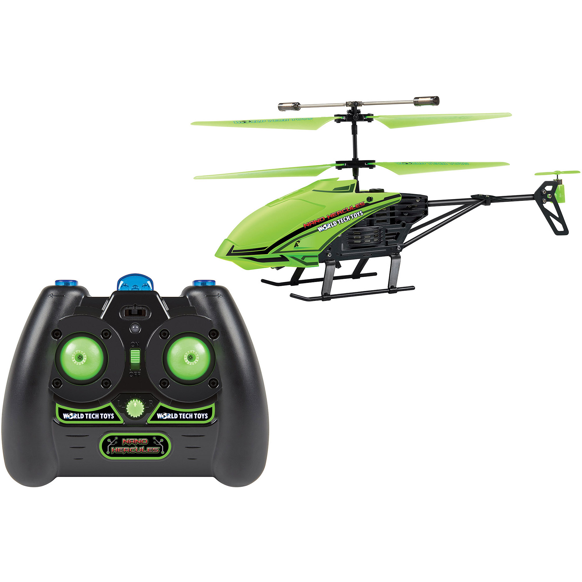 World Tech Toys 3.5CH Gyro Glow In Dark Nano Hercules IR Helicopter