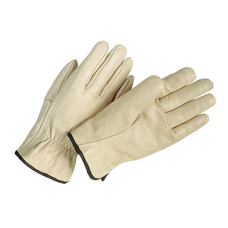 Condor 3ZL51 M Cream Leather Driver's Gloves
