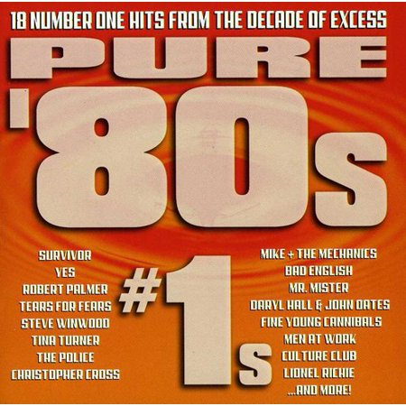 Pure 80's #1s (CD) (The 80's Look)