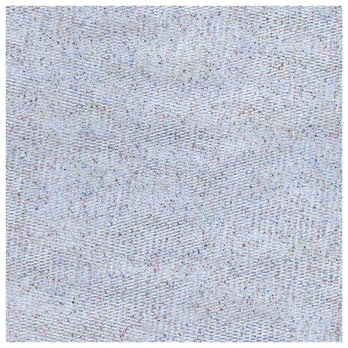 Party Time Polymesh Fabric by the Yard, Glitter White