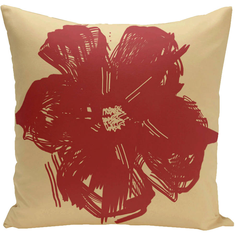 "Simply Daisy 16"" x 16"" Polyester Outdoor Pillow"