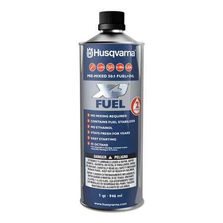 Husqvarna 584309701 XP Pre-Mixed 2-Stroke Fuel and Oil for Engines, 1