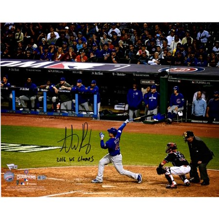 ca39b80b Anthony Rizzo Chicago Cubs 2016 MLB World Series Champions Autographed 16