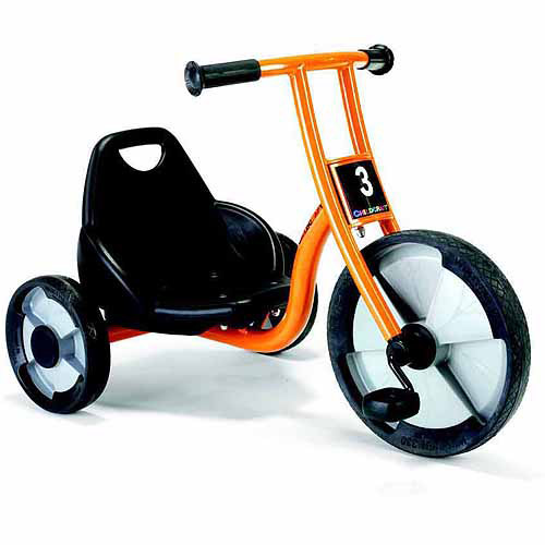 Childcraft EasyRider Toddler Tricycle for Kids, 7-1/2 Inch Seat Height, Yellow