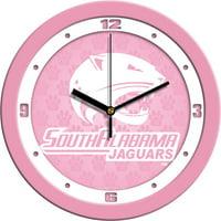Suntime ST-CO3-SAJ-BWCLOCK South Alabama Jaguars-Baby Blue Wall Clock