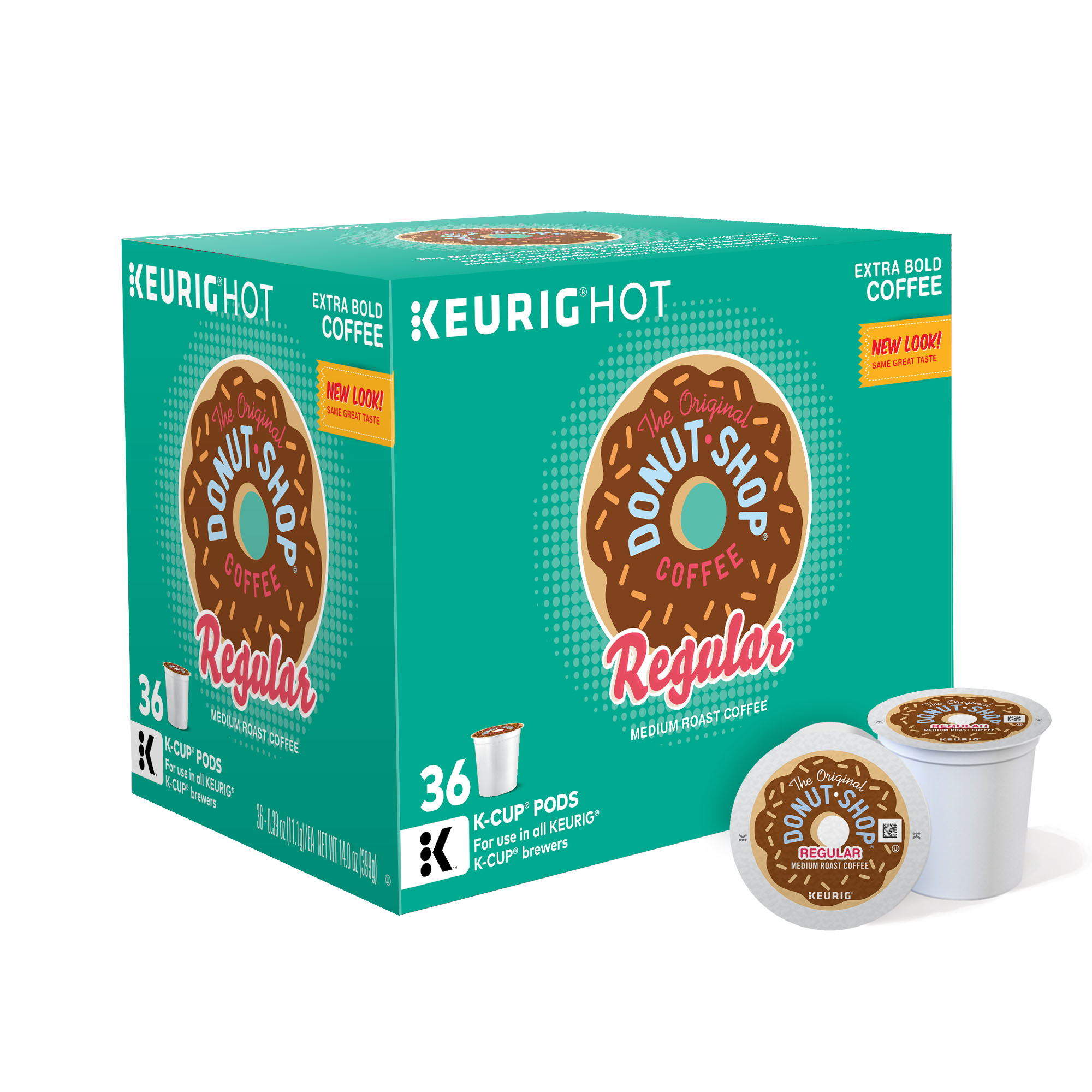 The Original Donut Shop Medium Roast Coffee, 36 Ct K-Cups