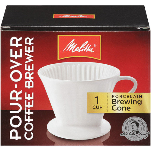 Melitta Porcelain 2 Cone Brewer Coffee Maker