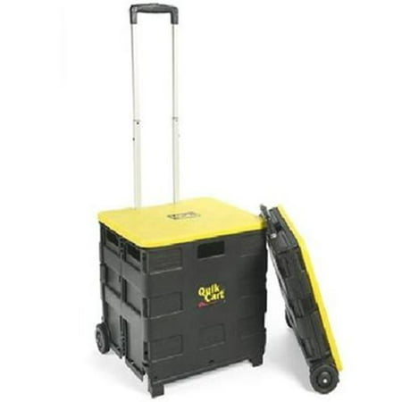 Quik Cart Two-Wheeled Collapsible Handcart with Lid - image 1 of 1