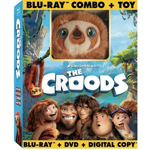 The Croods (Blu-ray + DVD + Digital Copy + Plush Toy) (Widescreen)