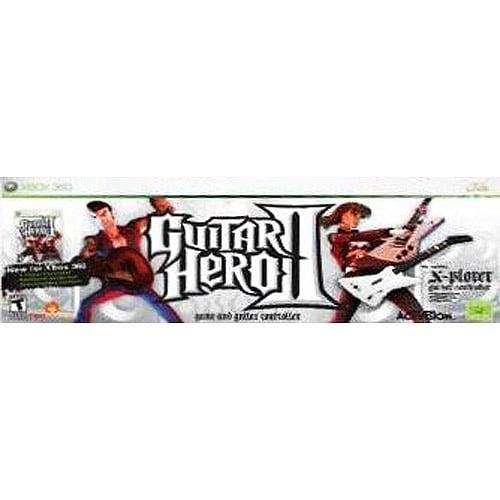 Activision Retired Guitar Hero II w/ Guitar Xbox 360