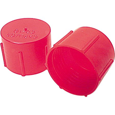 Allstar Performance AN Dust Cap - 12 AN - Plastic - Red - Set of 10 ALL50806 Plastic Dust Cup