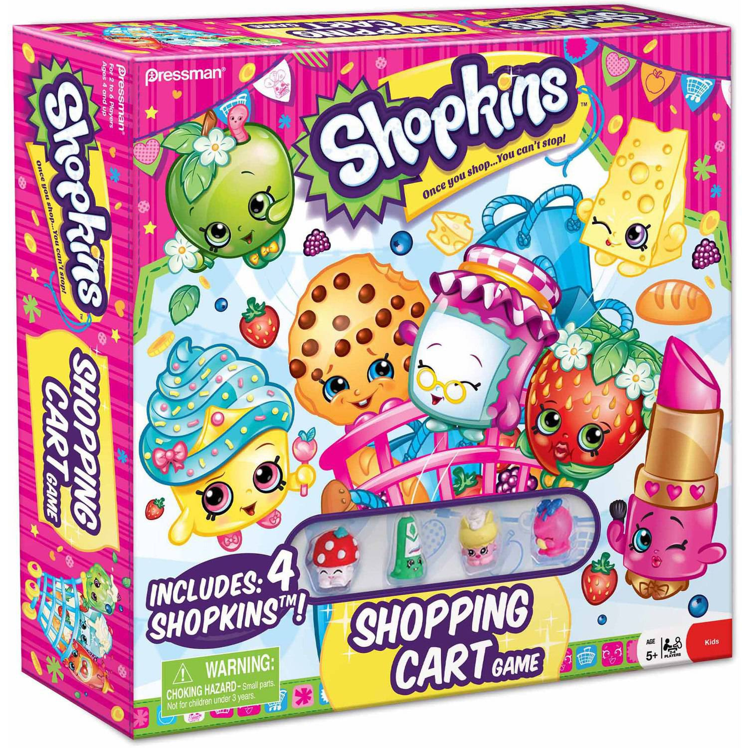 Pressman Toy Shopkins Supermarket Scramble Game