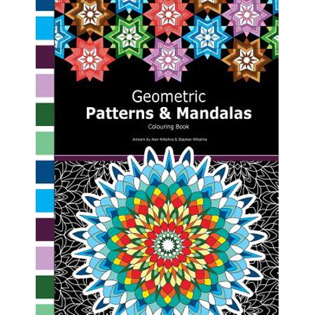 Geometric Patterns and Mandalas : Mathematical Colouring Book Including Geometric Patterns, Tessellations, Mandalas and Polygon Designs. - Halloween Tessellations