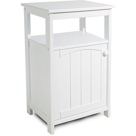 Telephone Stand/Bathroom Cabinet, White - Telephone Stand/Bathroom Cabinet, White - Walmart.com