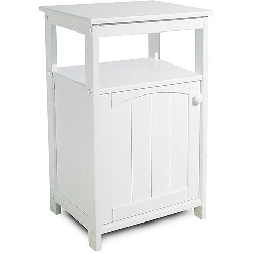 Telephone Stand/Bathroom Cabinet, White