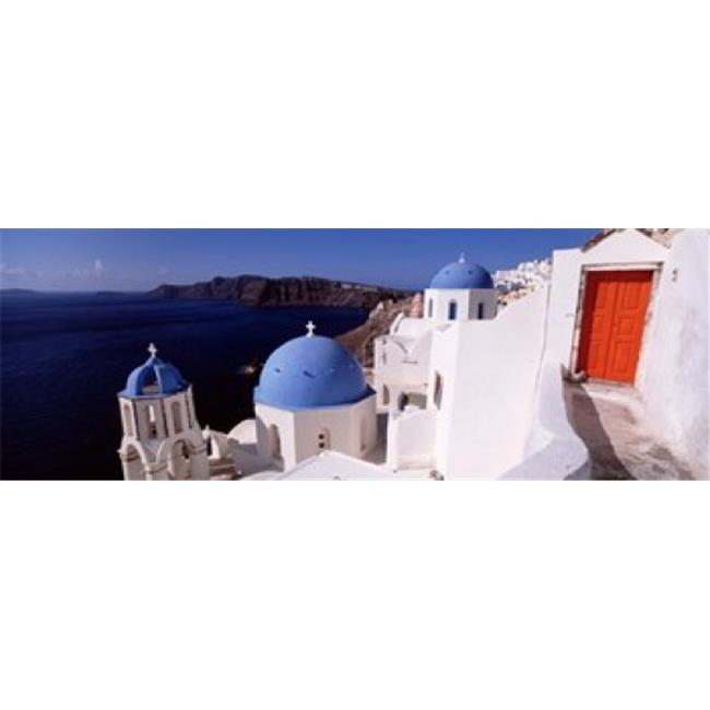 Church in a city  Santorini  Cyclades Islands  Greece Poster Print by  - 36 x 12 - image 1 of 1