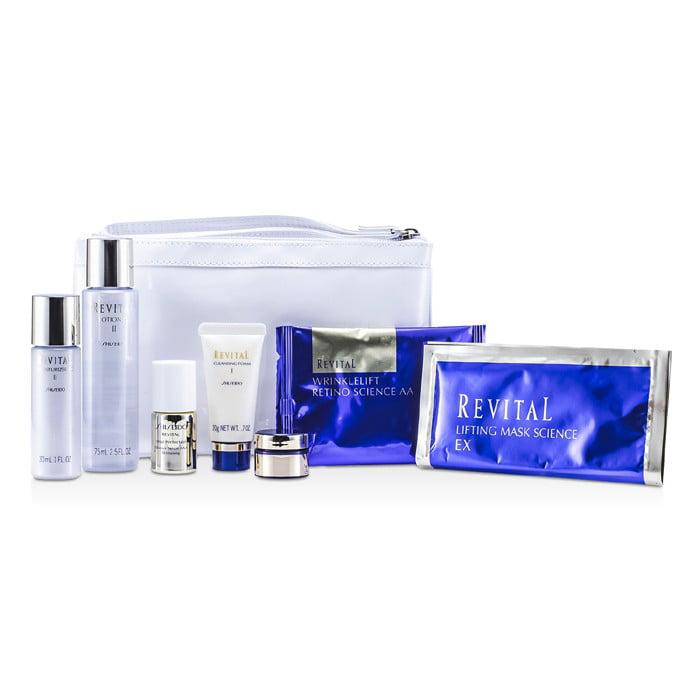 Shiseido - Revital Set: Cleansing Foam 20g + Lotion EX II...