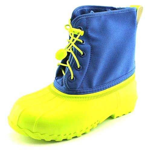 Native Jimmy Junior Youth US 2 Blue Rain Boot
