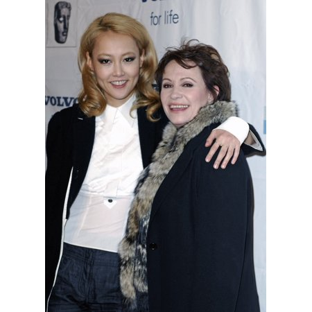 Rinko Kikuchi Adriana Barraza At Arrivals For Bafta British Academy Of Film And Television Arts La Tea Party Four Seasons Hotel Los Angeles Ca January 14 2007 Photo By Michael GermanaEverett Collectio - Halloween Hotel Parties Los Angeles