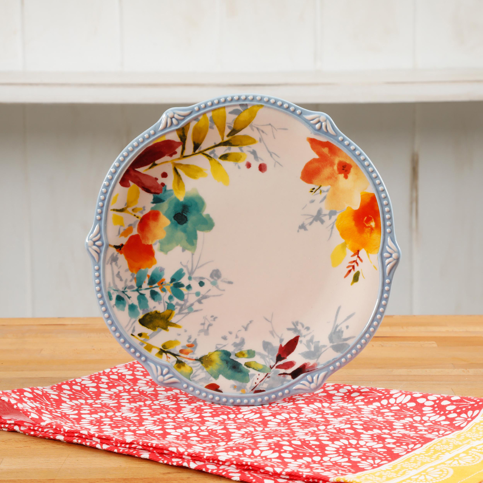 The Pioneer Woman Willow 8.75-Inch Salad Plates, Set of 4