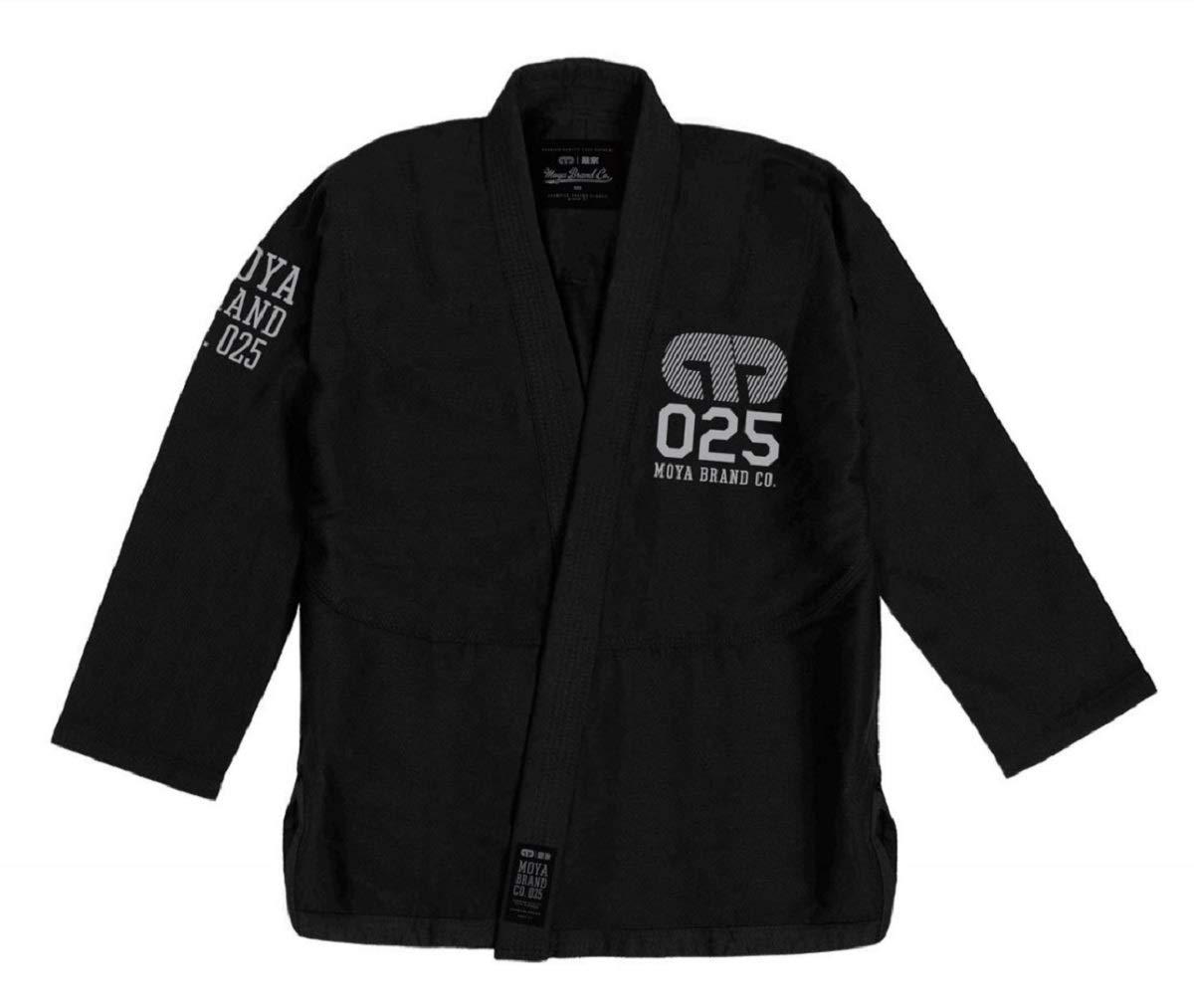 Black Moya Standard Issue Adult Jiu Jitsu Gi White//Purple Blue White IBJJF Approved